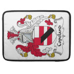 Copeland Family Crest Sleeves For MacBook Pro