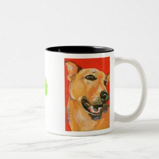 Copeland's Trixie Two-Tone Coffee Mug