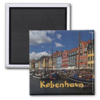 Copenhagen 2 Inch Square Magnet