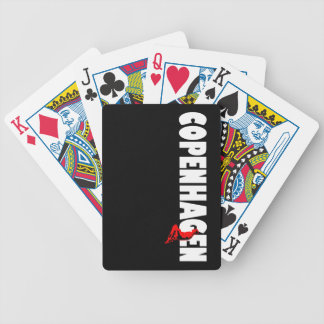 Copenhagen Bicycle Playing Cards