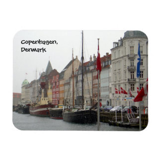 Copenhagen Canal (Nyhavn) Rectangular Photo Magnet