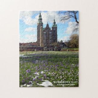 Copenhagen Castle (Rosenborg Slot) Jigsaw Puzzle
