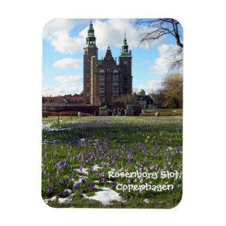 Copenhagen Castle (Rosenborg Slot) Rectangular Photo Magnet
