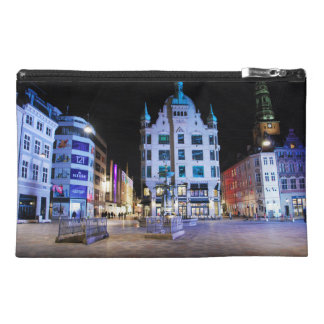 Copenhagen City Hall Square at Night Travel Accessories Bags