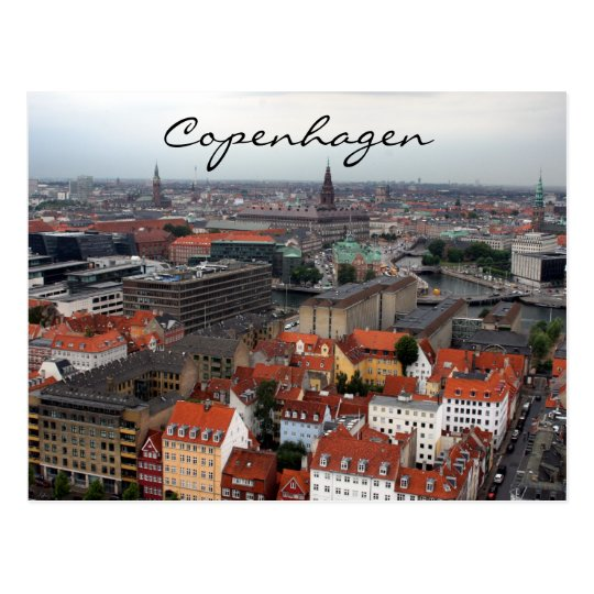 copenhagen city postcard