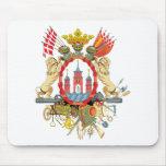 Copenhagen Coat of Arms Mouse Pad