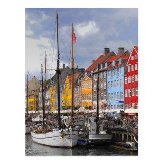 Copenhagen Color Postcard