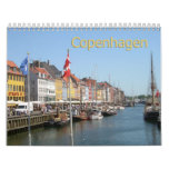 Copenhagen, Denkmark 2013 Wall Calendar