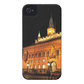 Copenhagen, Denmark at night iPhone 4 Case