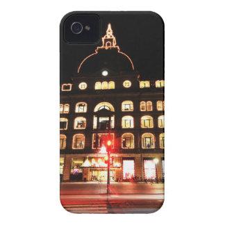 Copenhagen, Denmark at night iPhone 4 Case-Mate Case