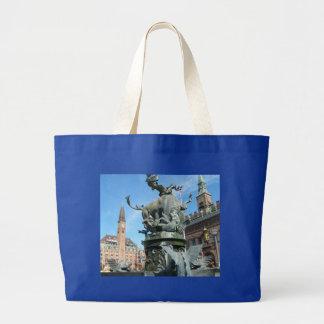 Copenhagen, Denmark Jumbo Tote Bag