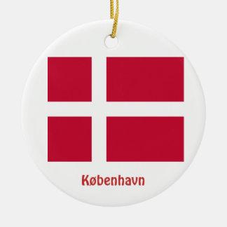 Copenhagen*, Denmark Christmas Ornament