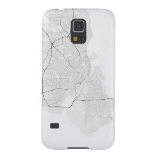 Copenhagen, Denmark Map. (Black on white) Case For Galaxy S5