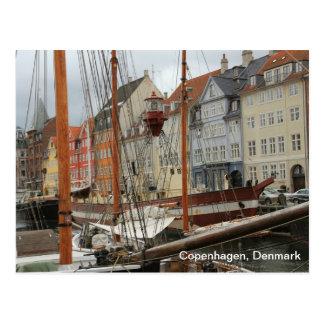 Copenhagen, Denmark Post Card