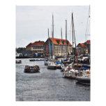 Copenhagen Harbor Customized Letterhead