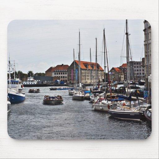 Copenhagen Harbor Mousepads