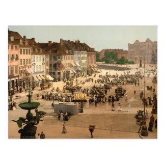 Copenhagen - Hochbrucke Square, Denmark Postcard