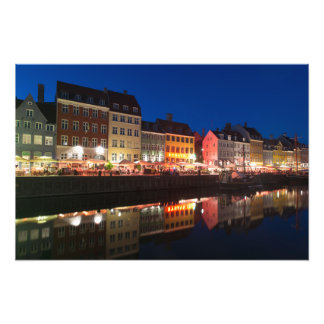 Copenhagen Nyhavn Photo Print