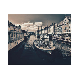 Copenhagen Port Canvas Print