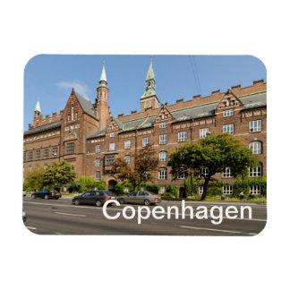 Copenhagen Rectangular Photo Magnet
