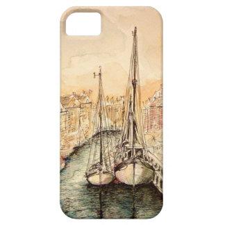 Copenhague con el amor - iPhoneCase iPhone 5 Case-Mate Cárcasa