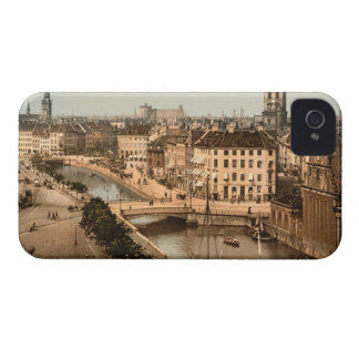 Copenhague, Dinamarca iPhone 4 Protector