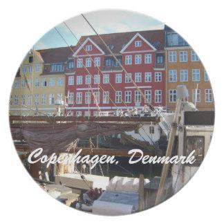 Copenhague, Dinamarca Plato De Cena