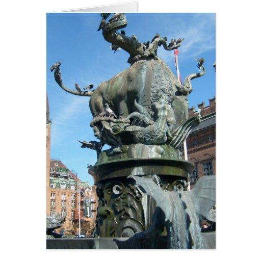 Copenhague, Dinamarca Tarjetas