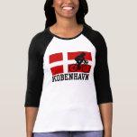 Copenhague (femenina) camisetas