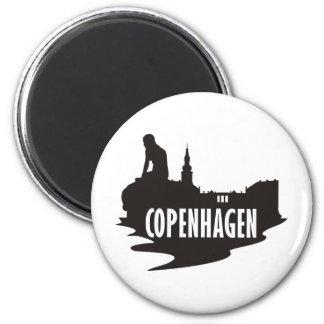Copenhague Imán Redondo 5 Cm