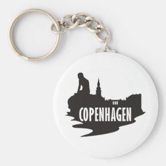 Copenhague Llavero Redondo Tipo Pin