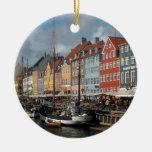 Copenhague Nyhavn Ornamento Para Reyes Magos