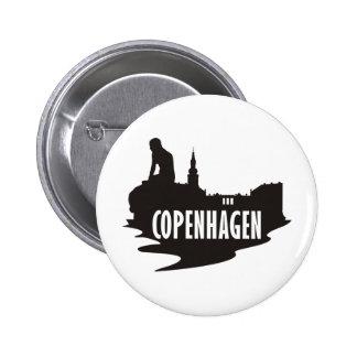 Copenhague Pin Redondo De 2 Pulgadas
