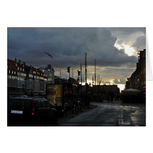 Copenhague Tarjeta De Felicitación