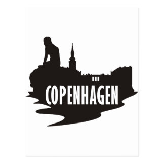 Copenhague Tarjeta Postal