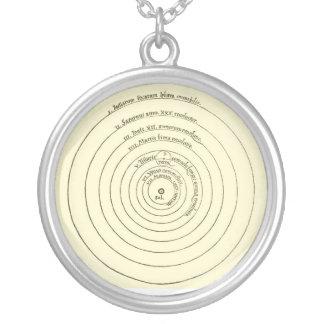 Coper-Necklace Round Pendant Necklace