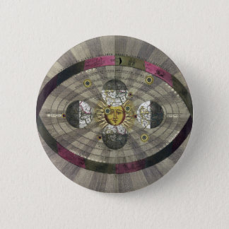 Copernican system of the Universe Pinback Button
