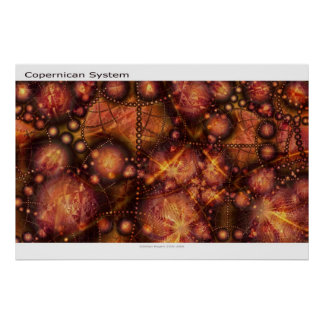 Copernican System Poster