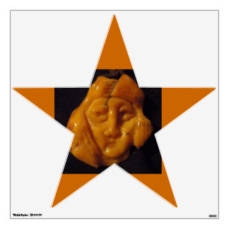 COPERNICUS AMBER CARVING WALL DECAL
