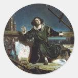 Copernicus Classic Round Sticker