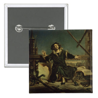 Copernicus en la torre en Frombork Pin Cuadrado