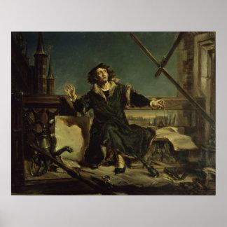 Copernicus en la torre en Frombork Póster
