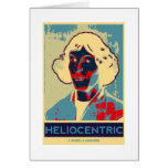 Copernicus Heliocentric (Obama-Like Poster) Greeting Cards