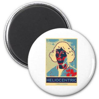 Copernicus Heliocentric (Obama-Like Poster) Fridge Magnets