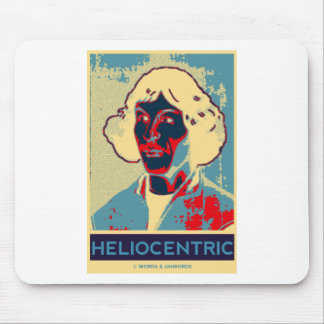 Copernicus Heliocentric (Obama-Like Poster) Mouse Pads