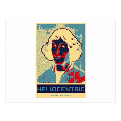 Copernicus Heliocentric (Obama-Like Poster) Postcards