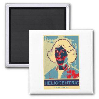 Copernicus heliocéntrico Obama-Como el poster Imán De Nevera