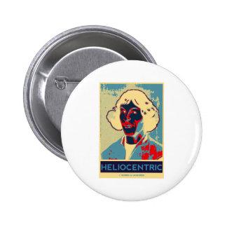Copernicus heliocéntrico Obama-Como el poster Pin