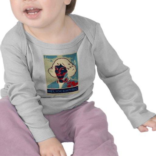 Copernicus heliocéntrico (Obama-Como el poster) Camiseta