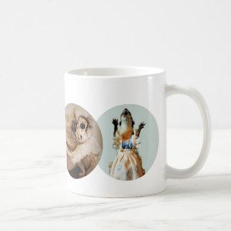 Copernicus, Juanita, Bloggess & Jefferson Peabody Classic White Coffee Mug